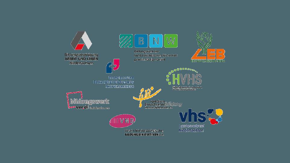 Logos von Verbaenden und Einrichtungen - nbeb: Erwachsenenbildung