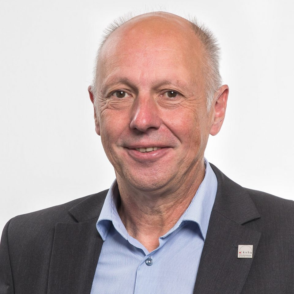 Bild von Winfried Krüger - Vorstandsmitglied der LV VHS - nbeb